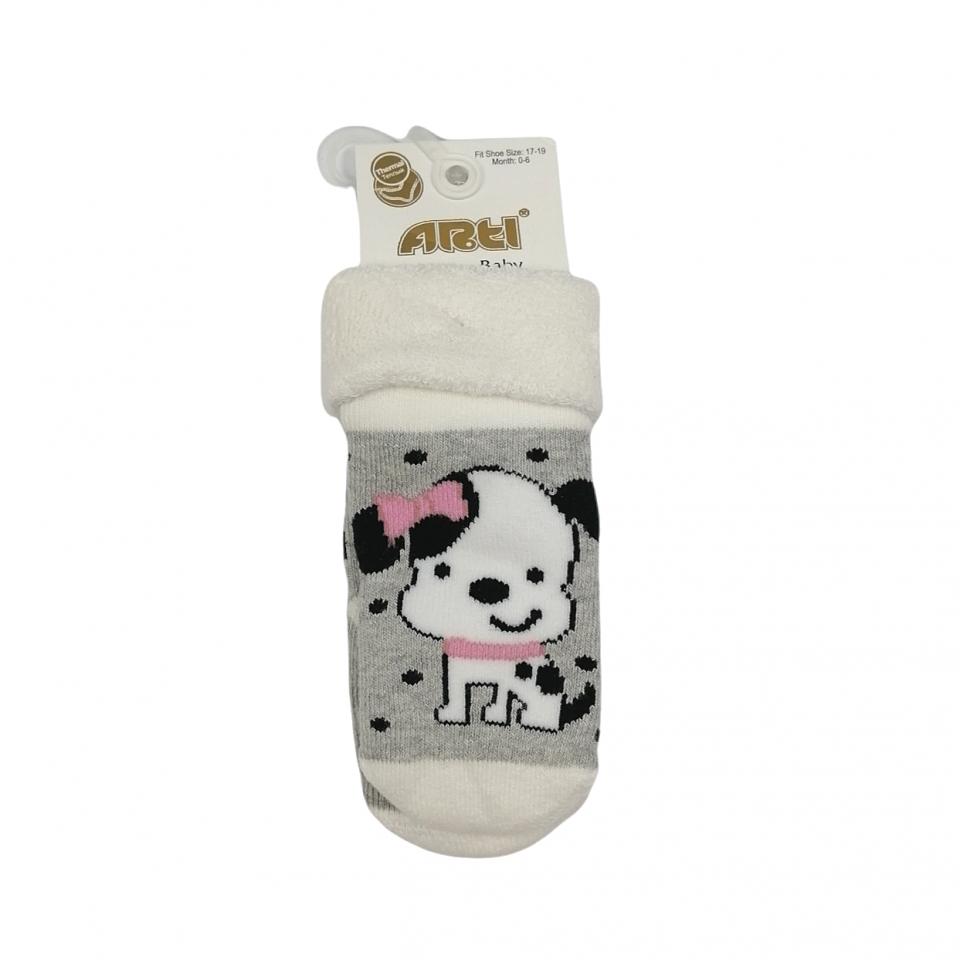 Ватирани Чорапки 4594-2 (0м.-18м.)